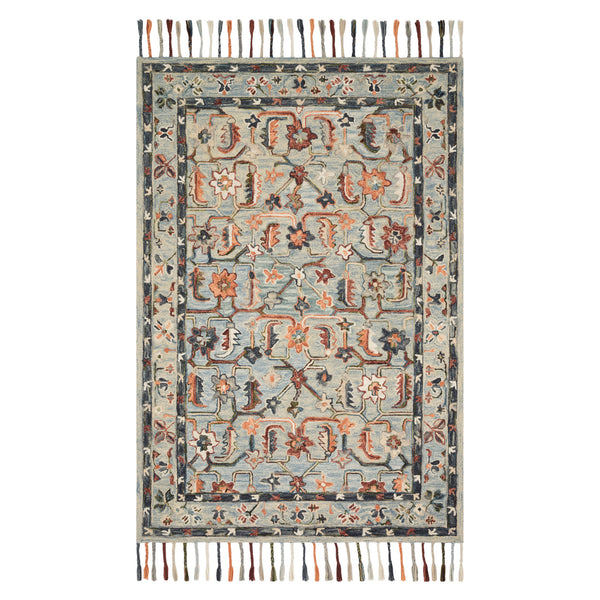 crown and birch elsa rug sky multi front