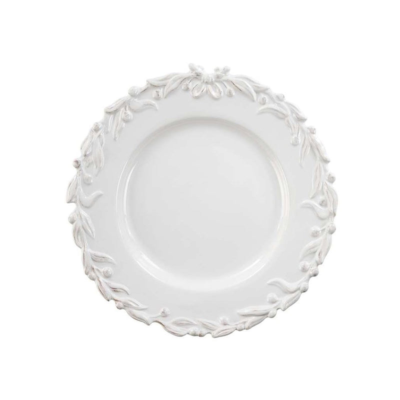 crown and birch english ivy dinner plate front