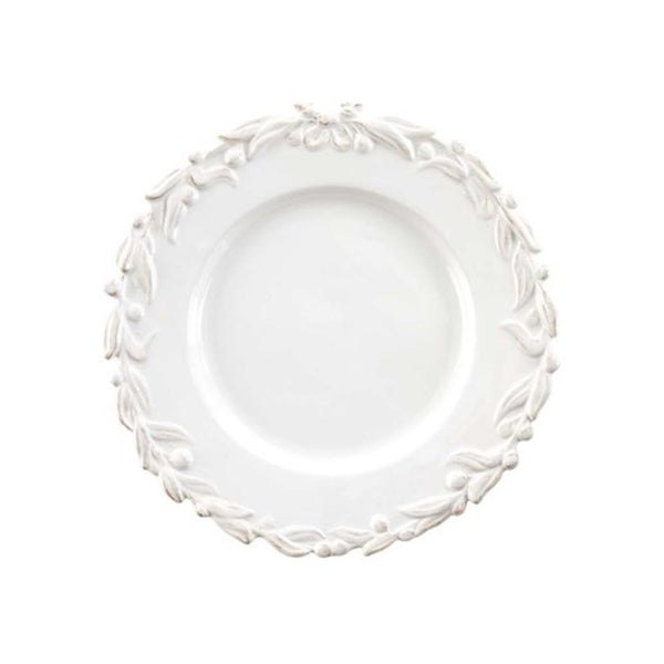 crown and birch english ivy salad plate white front