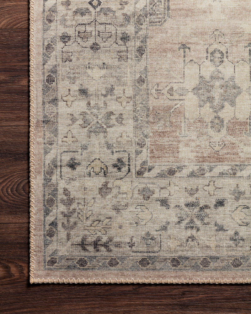 crown and birch estelle rug java multi detail loloi hathaway