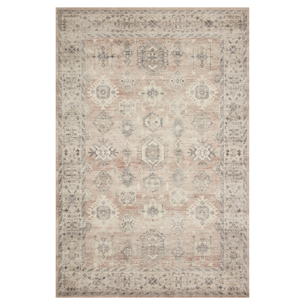 crown and birch estelle rug java multi front loloi hathaway