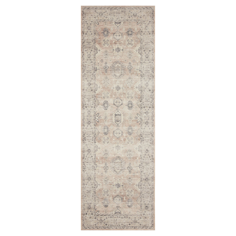 crown and birch estelle rug java multi runner loloi hathaway