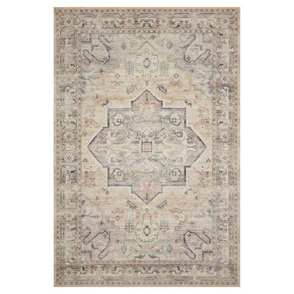 crown and birch estelle rug multi ivory front loloi hathaway