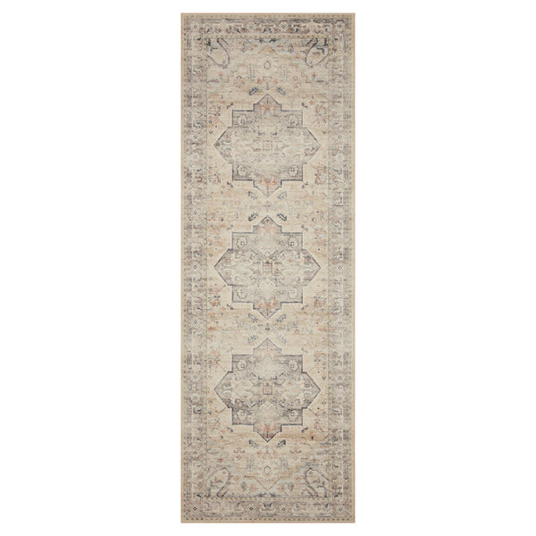 crown and birch estelle rug multi ivory runner loloi hathaway