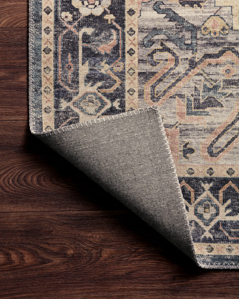 crown and birch estelle rug navy multi detail 2 loloi hathaway