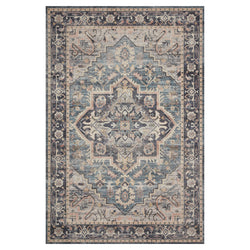 crown and birch estelle rug navy multi front loloi hathaway