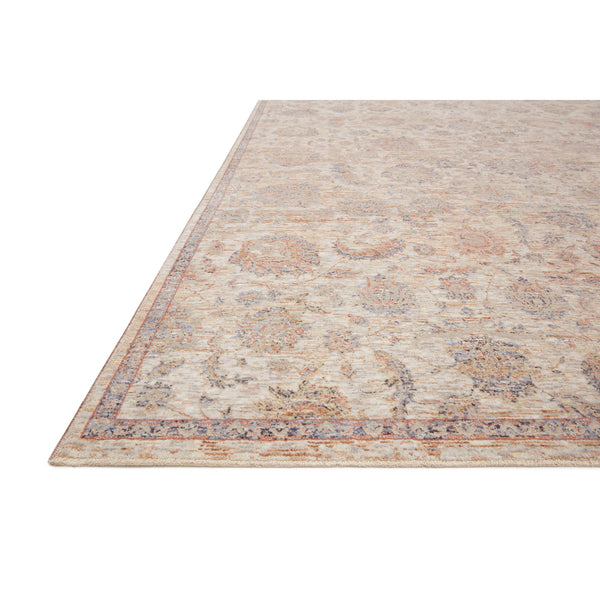 crown and birch felicity rug faye rug beige multi detail