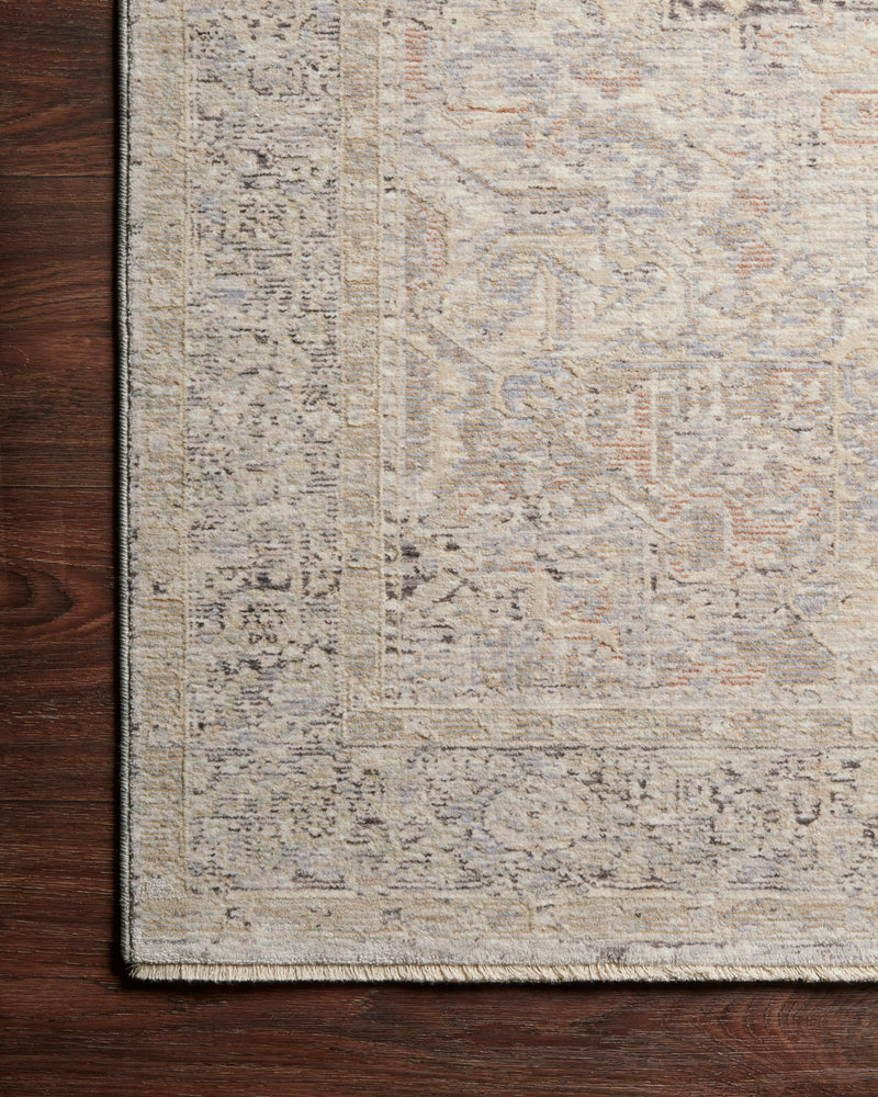 crown and birch felicity rug faye rug ivory multi corner