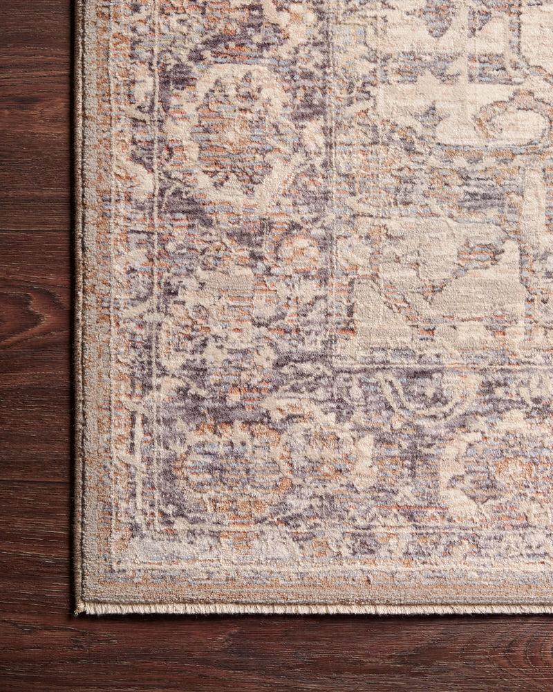 crown and birch felicity rug loloi faye rug taupe denim corner