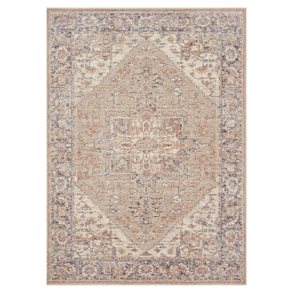 crown and birch felicity rug loloi faye rug taupe denim front
