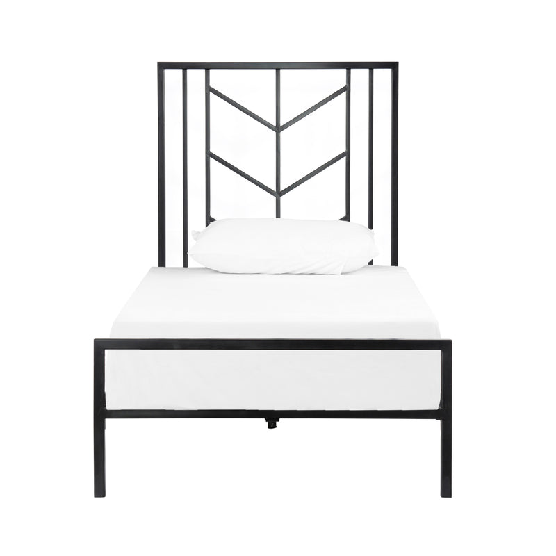 crown and birch gailen bed black twin front