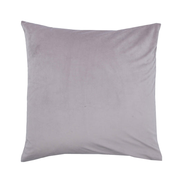 crown and birch gala mauve suede pillow front