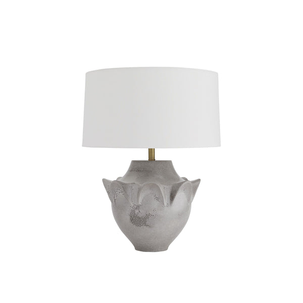 crown and birch gale table lamp front off