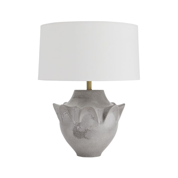crown and birch gale table lamp front