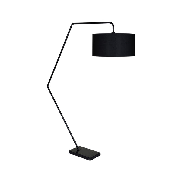 crown and birch gather floor lamp angle
