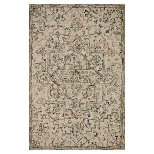 crown and birch hailee rug loloi halle grey ocean front
