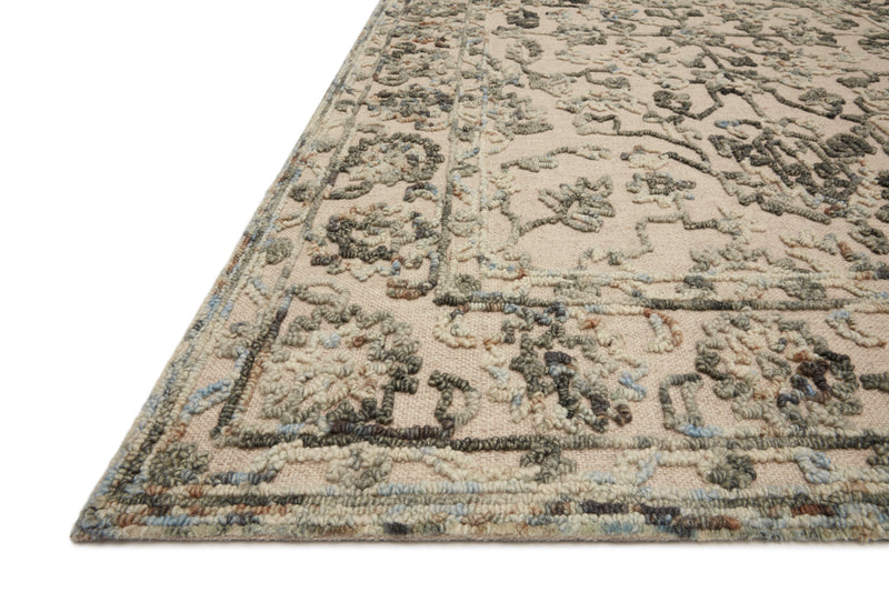 crown and birch hailee rug loloi halle grey sky detail