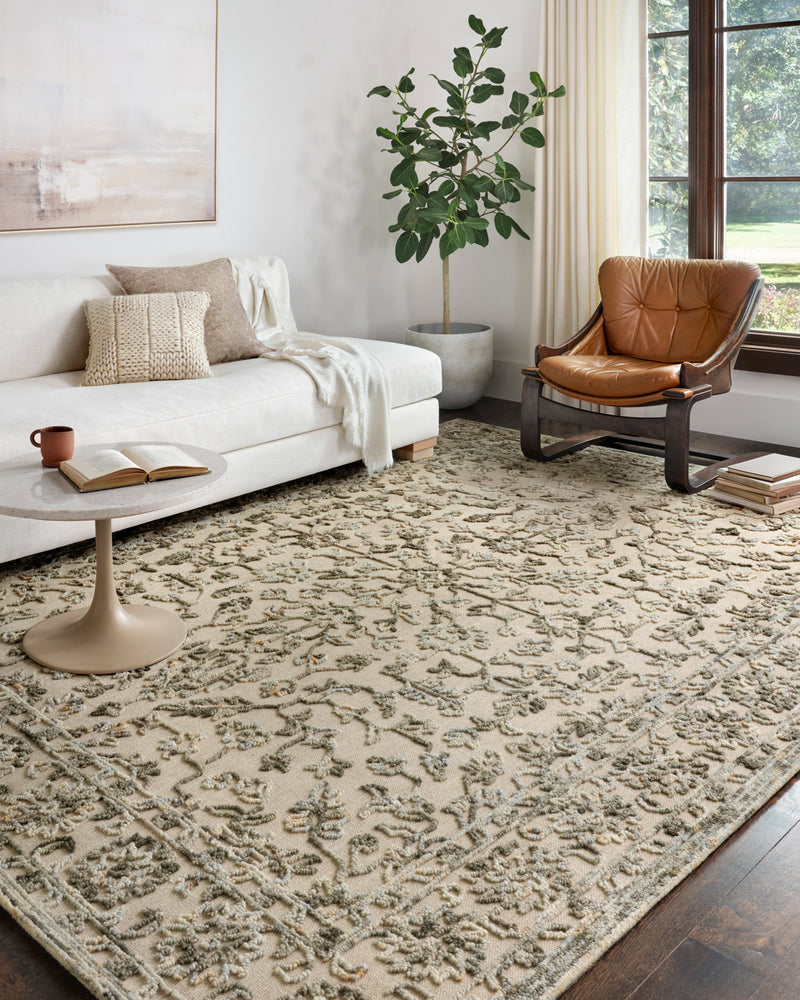 crown and birch hailee rug loloi halle grey sky scene