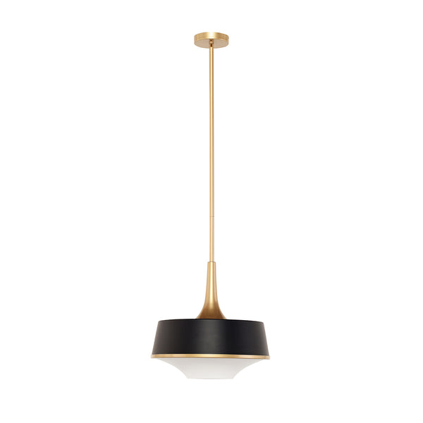 crown and birch harrison pendant black full