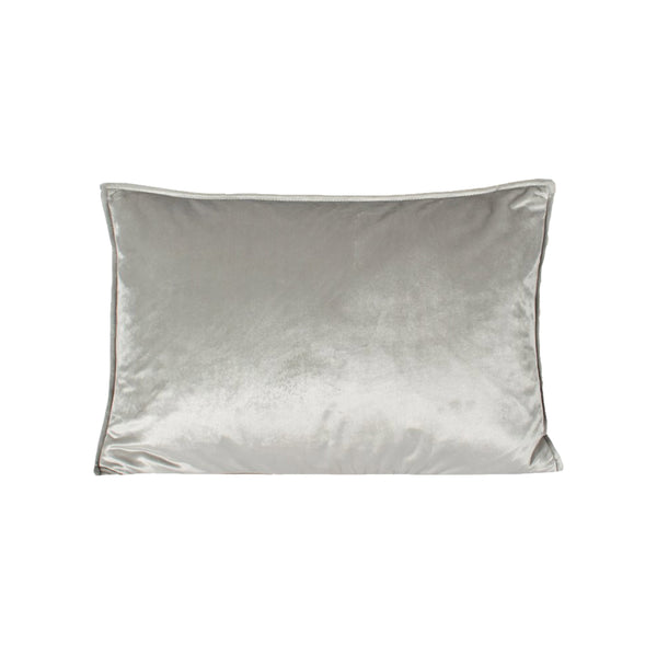 crown and birch hazel cream velvet pillow front