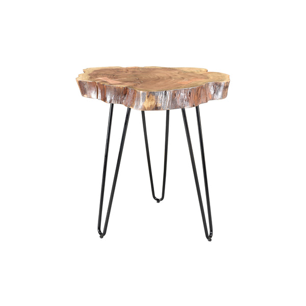 crown and birch iron acacia natural accent table angle