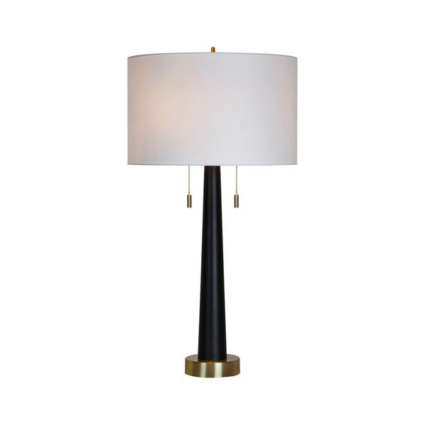 crown and birch jane table lamp front on