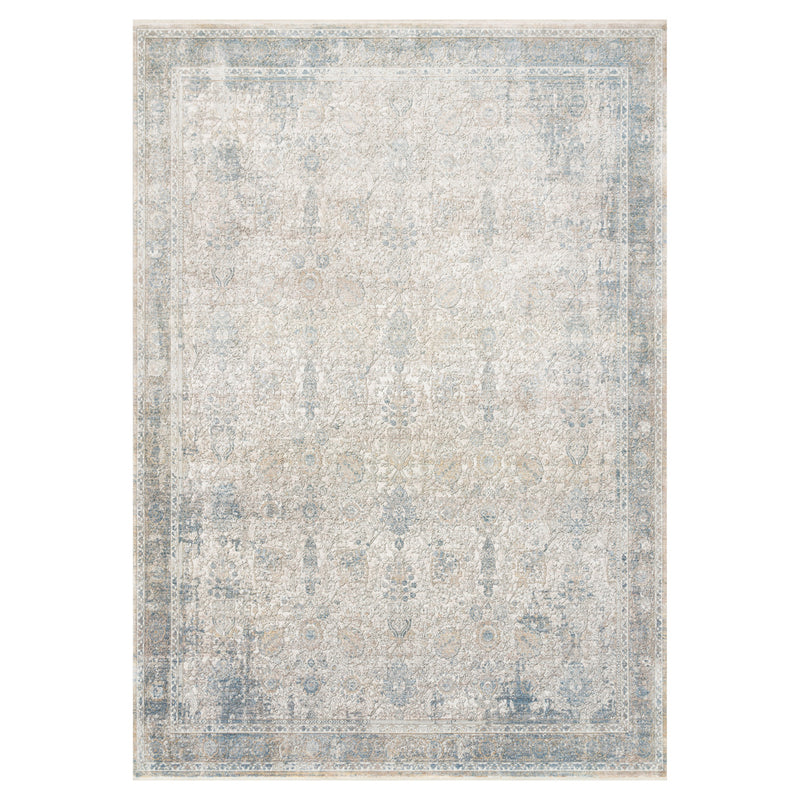 crown and birch jenna rug sky ivory front loloi gemma