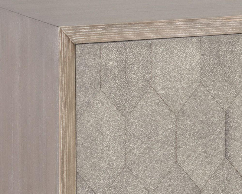 crown and birch jennifer sideboard grey detail