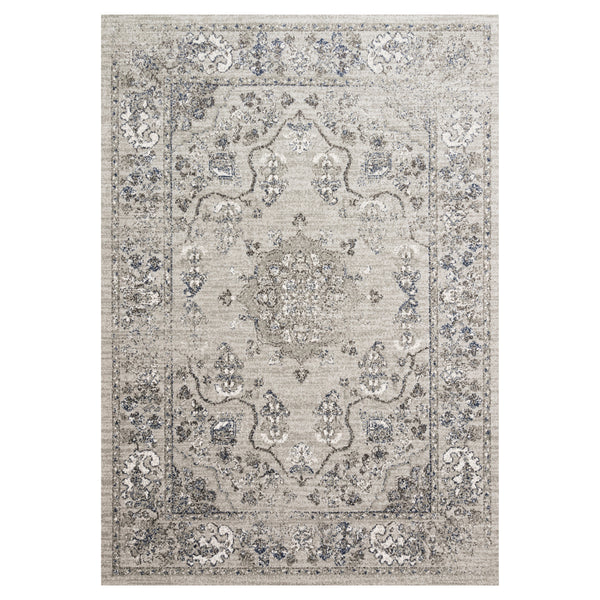 crown and birch jolene rug dove grey front loloi joaquin