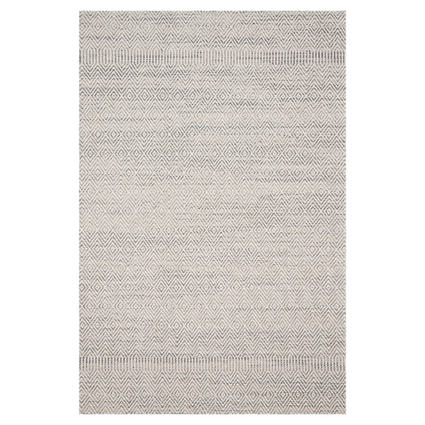 crown and birch kal rug grey bone front