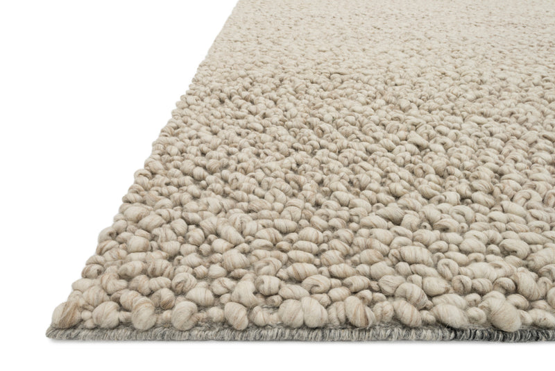 crown and birch kware rug oatmeal detail