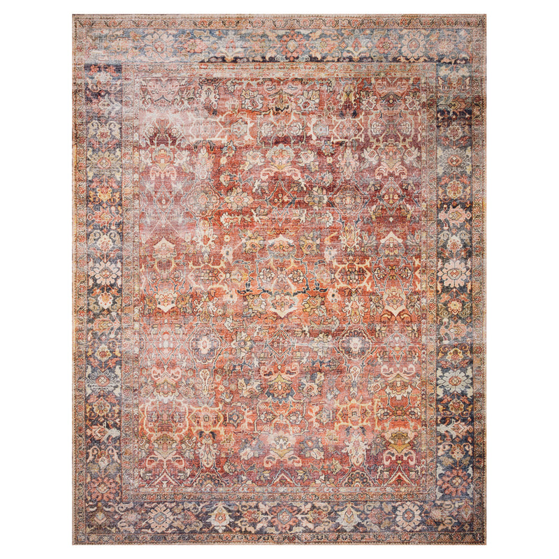 crown and birch leyla spice marine rug front