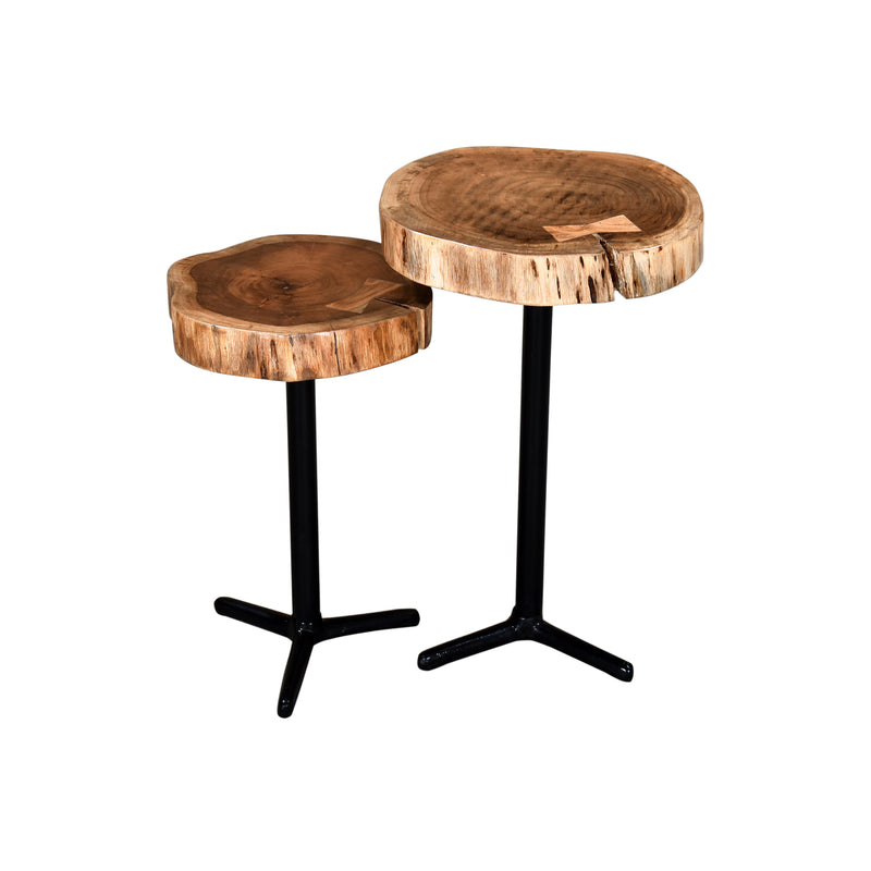 crown and birch live edge natural accent tables angle