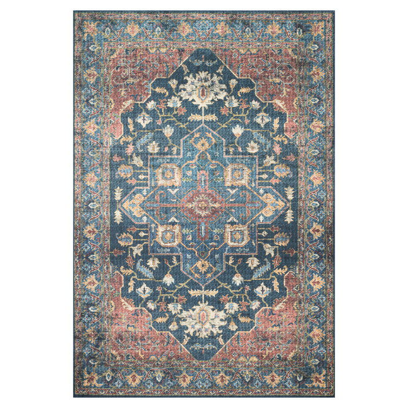 crown and birch liza rug denim brick front