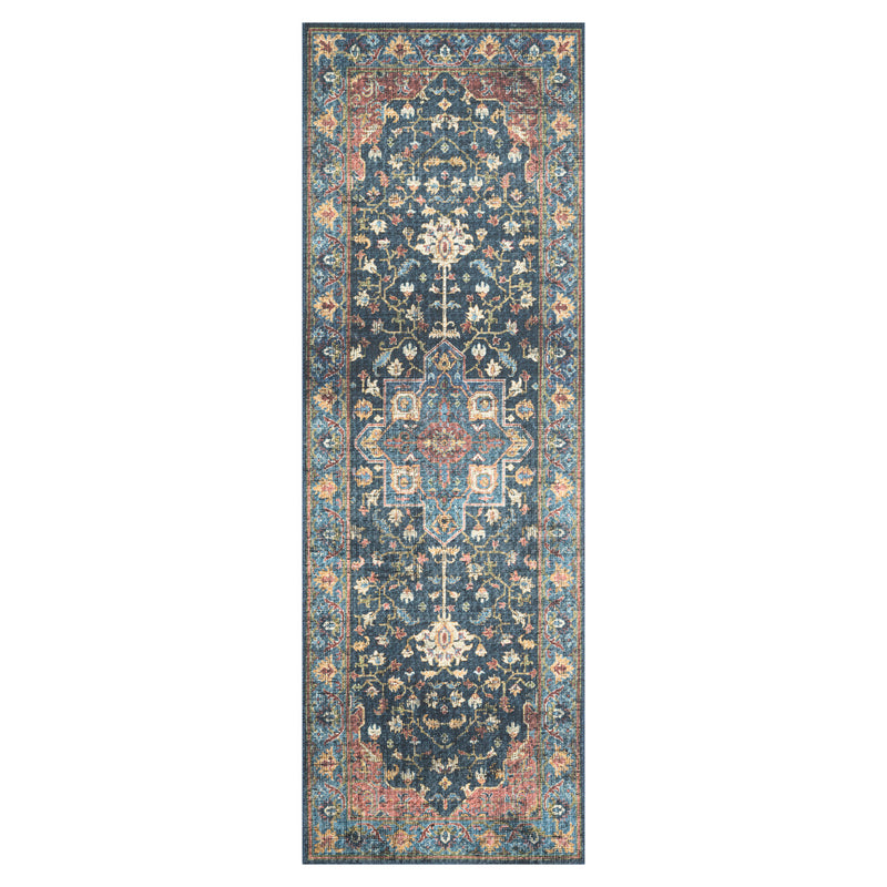 crown and birch liza rug denim brick runner