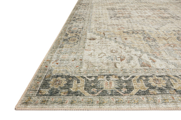 crown and birch liza rug natural sand angle