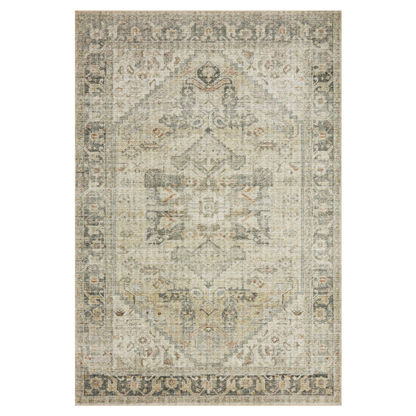 crown and birch liza rug natural sand front