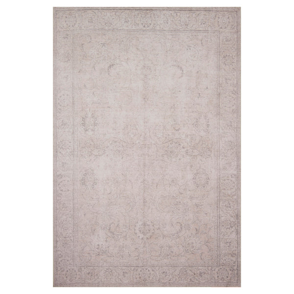 crown and birch lorelei rug sand front