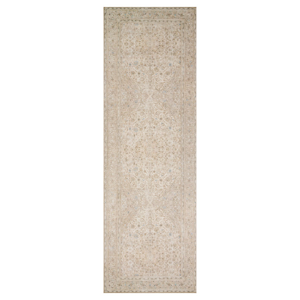 crown and birch lorelei rug sand taupe runner