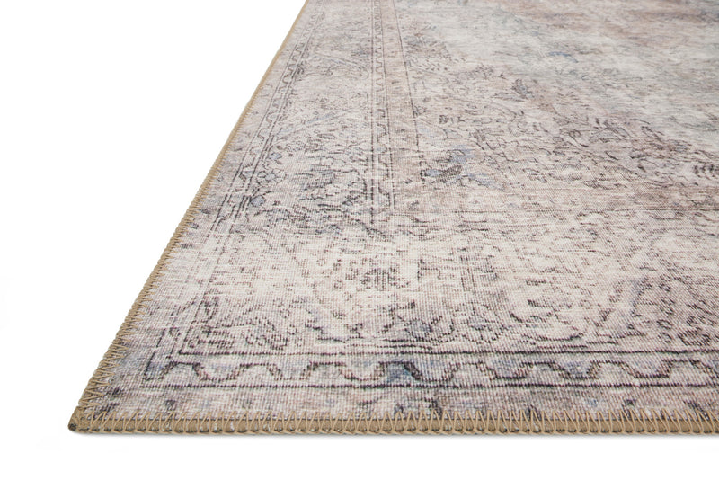 crown and birch lorelei rug silver slate detail