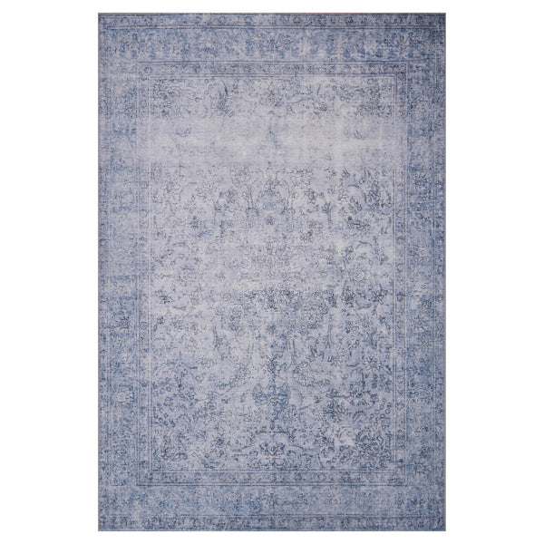 crown and birch lorelei rug slate front
