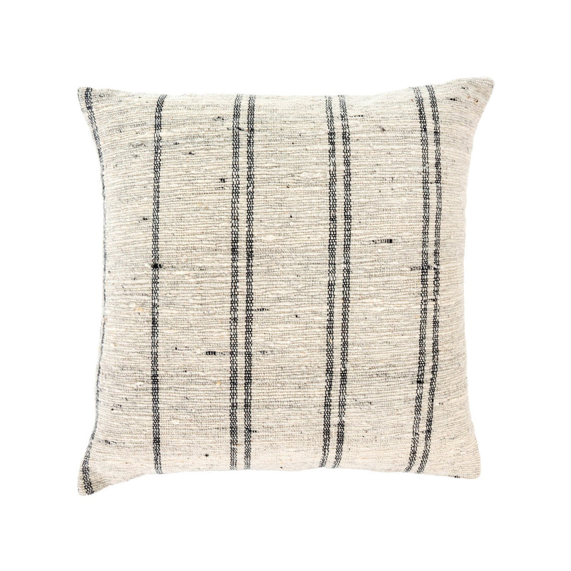 crown and birch luca slub cushion front