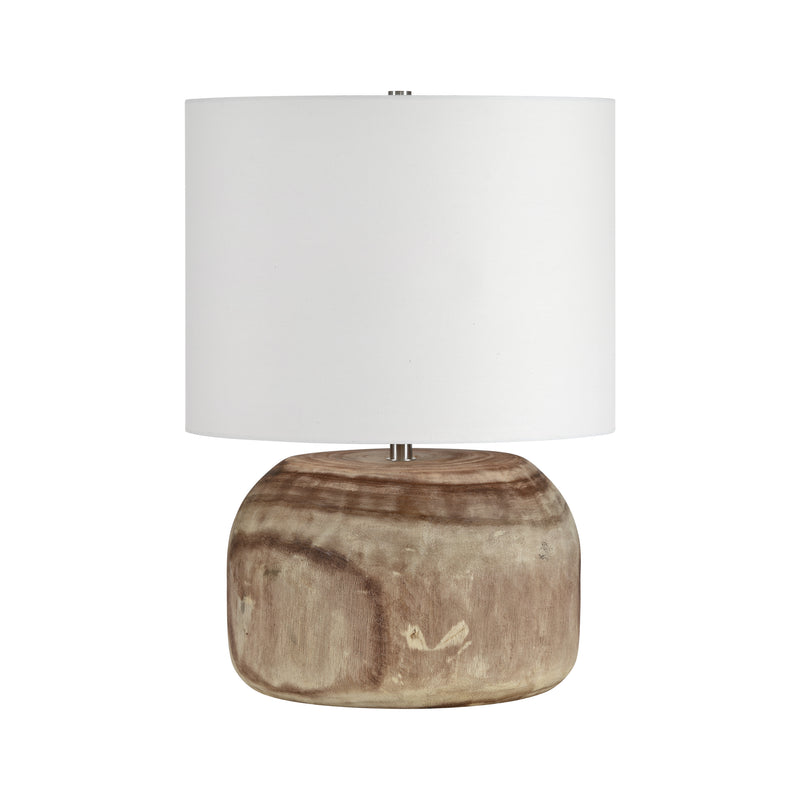 crown and birch maarten table lamp front