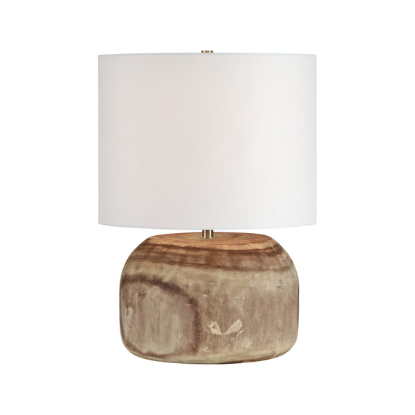 crown and birch maarten table lamp on