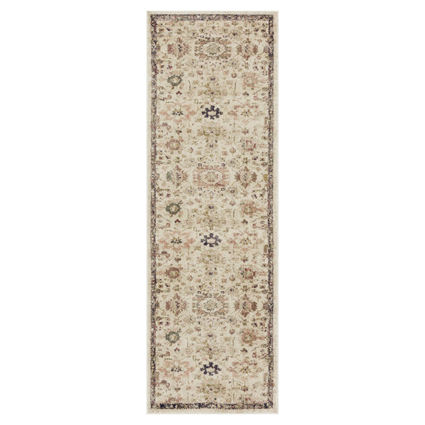 crown and birch maeve rug loloi giada ivory multi runner