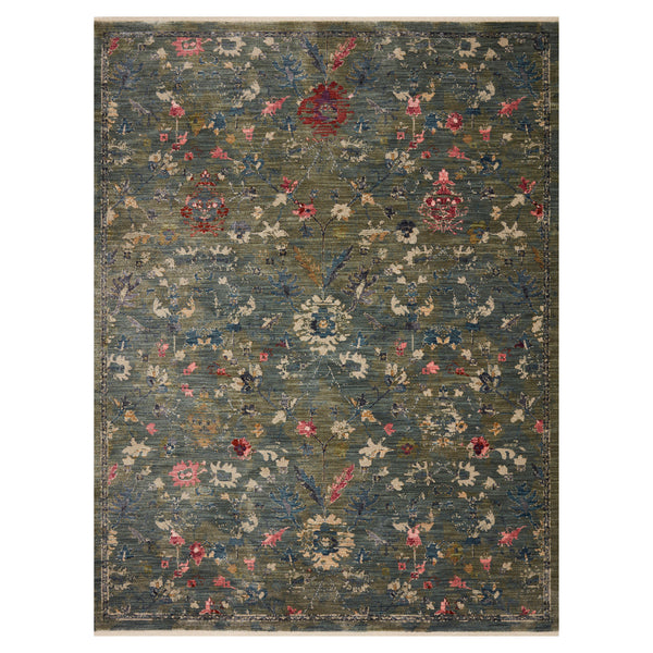 crown and birch maeve rug loloi giada lagoon multi front