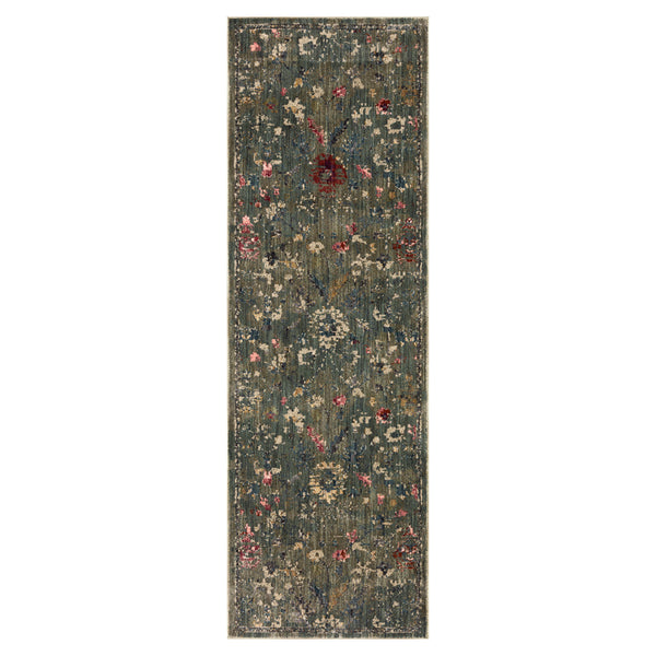 crown and birch maeve rug loloi giada lagoon multi runner