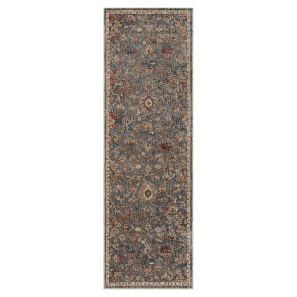 crown and birch maeve rug loloi giada silver multi runner