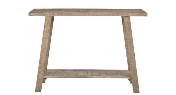 crown and birch mango reclaimed console front
