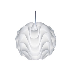 crown and birch mara white pendant front